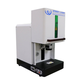 Small enclosed cover laser marking machine