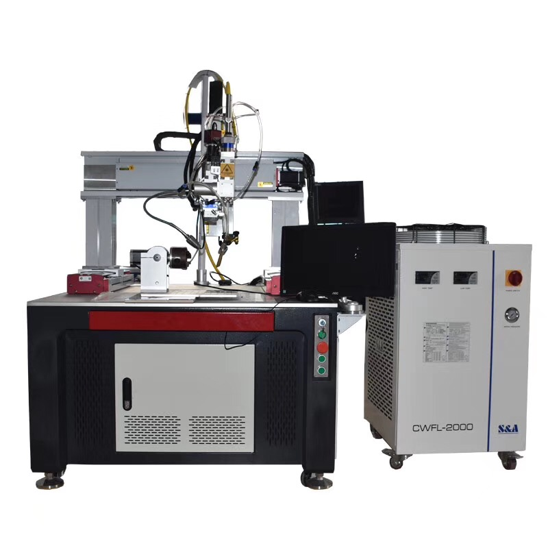 Stainless steel auto fiber laser welding machine