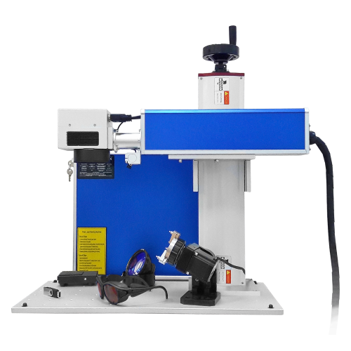 SL-FM 30W fiber laser etching machine for metal